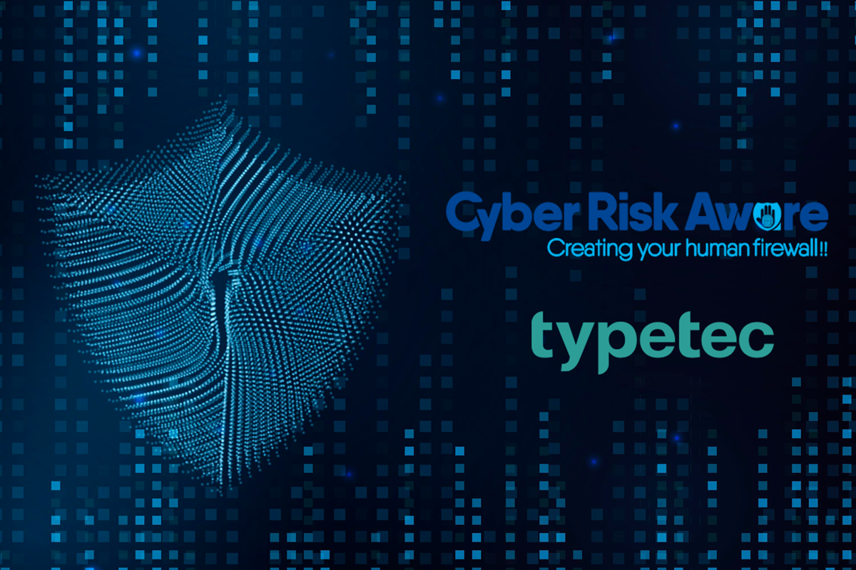 Cyber Risk Aware Announces Partnership With Typetec